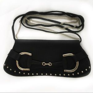 La Regale Satin Punky Evening Crossbody